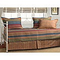 Katy 5-piece Striped Cotton/Microfiber Polyester Daybed Set