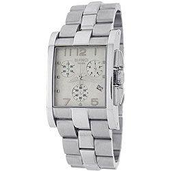 Roberto Bianci Men's Swiss Chronograph Watch with White Dial