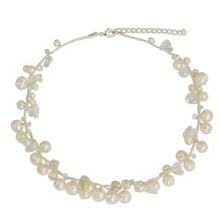 Pearl 'River of Snow' Necklace (3-8 mm) (Thailand)