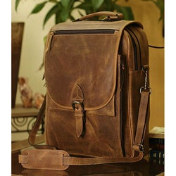 Leather 'Free Spirit' Messenger Bag (Mexico)