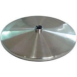 Daylight Slimline Brushed Steel Table Lamp Base