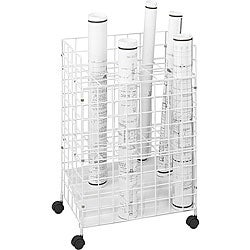 Safco Tiered 24 Compartment Wire Roll File