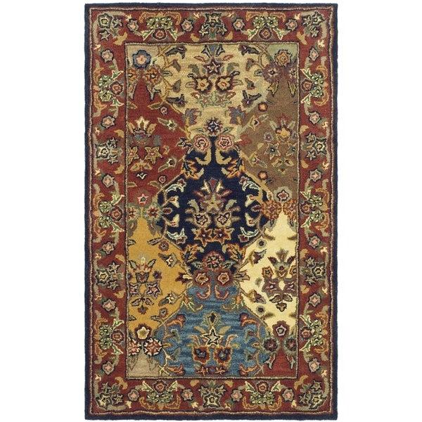 Safavieh Handmade Heritage Heirloom Multicolor Wool Rug (3' x 5')