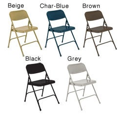 NPS Premium All-steel Folding Chairs (Pack of 4)