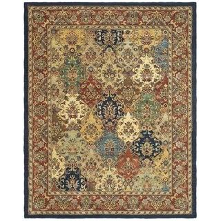 Safavieh Handmade Heritage Heirloom Multicolor Wool Rug (7'6 x 9'6)