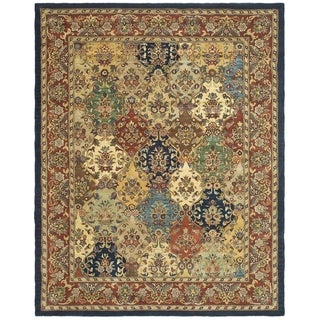Safavieh Handmade Heritage Heirloom Multicolor Wool Rug (8'3 x 11')