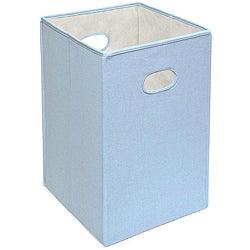 Badger Basket Blue Folding Hamper and Storage Bin