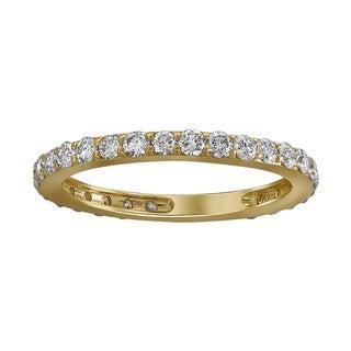 Beverly Hills Charm 14k Yellow Gold 1ct TDW Diamond Wedding Band (H-I, I2-I3)