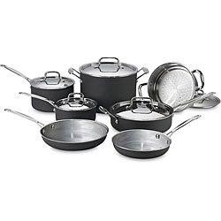 Cuisinart MCU-12 Multiclad 12-piece Cookware Set
