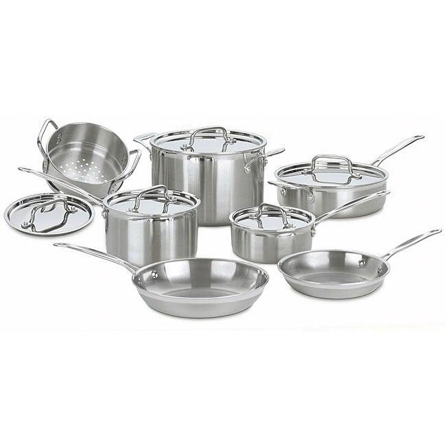Cuisinart Multiclad Pro Stainless Steel 12-piece Cookware Set