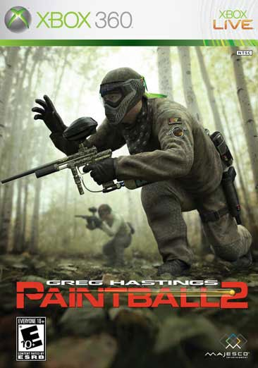 Xbox 360 - Greg Hastings' Paintball 2 - By Majesco