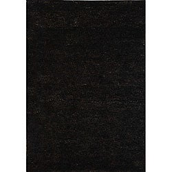 Safavieh Hand-knotted Vegetable Dye Solo Liquorice Hemp Rug (9' x 12')