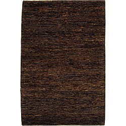 Safavieh Hand-knotted All-Natural Earth Brown Hemp Rug (9' x 12')