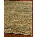 Safavieh Hand-knotted All-Natural Hayfield Beige Hemp Rug (9' x 12')