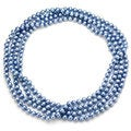 Blue Freshwater Pearl 100-inch Endless Necklace (7-7.5 mm)