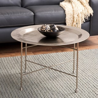 Antique Nickel Coffee Table (India)