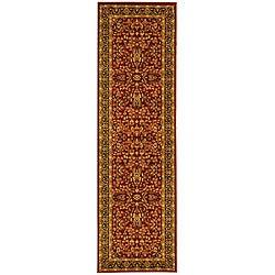 Safavieh Lyndhurst Persian Treasure Red/ Black Runner (2'3 x 20')