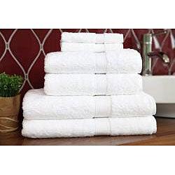Authentic Hotel & Spa Turkish Cotton 6-piece Towel Set