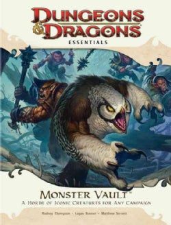 Monster Vault: An Essential Dungeons & Dragons Kit (Game)