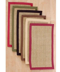 Basketweave Seagrass Rug (8' x 10')