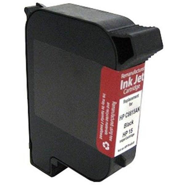 Insten HP 15 2-pack Black Ink Cartridge