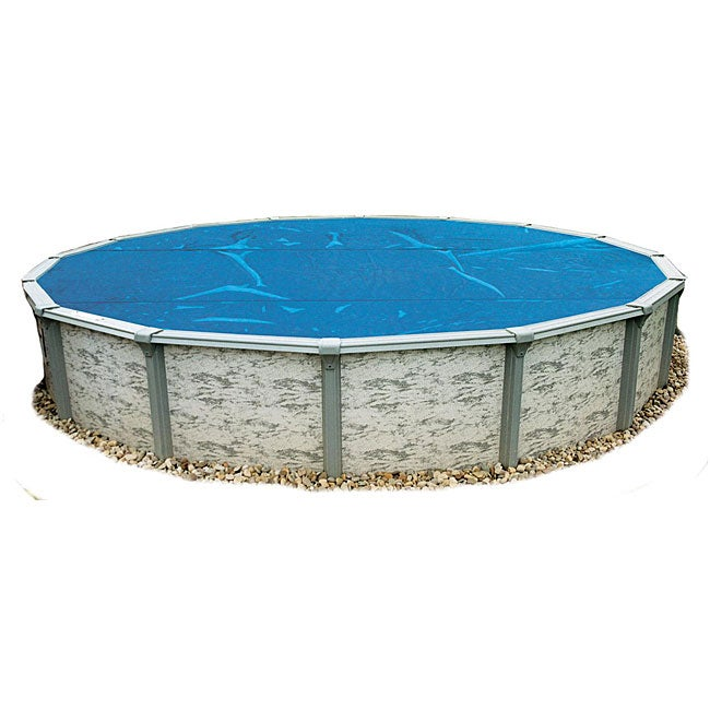 Blue Wave 24 Ft Round 8 Mil Solar Blanket For Above Ground Pools Blue Overstock Shopping