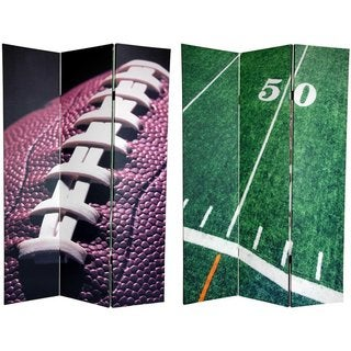 Canvas Double-sided 6-foot Football Room Divider (China)