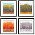 Kim Coulter ' Change of Seasons I-IV' 4-piece Giclee Art Set