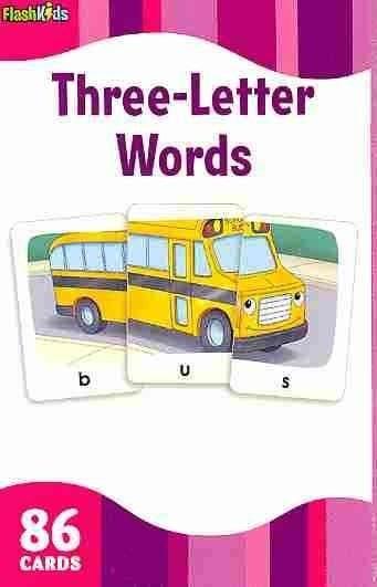 3 Letter Words (Cards)