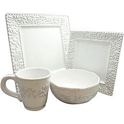 American Atelier Bianca 16-piece Dinnerware Set