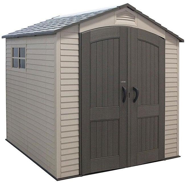Lifetime Basic Storage Shed (7' x 7')