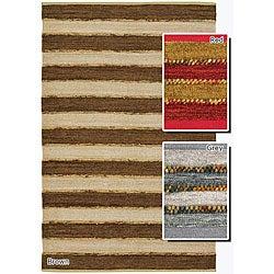 Flat-weave Contemporary Mandara Rug (5' x 7'6)