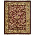 Safavieh Handmade Jaipurs Red/ Gold Wool Rug (7���6 x 9���6)