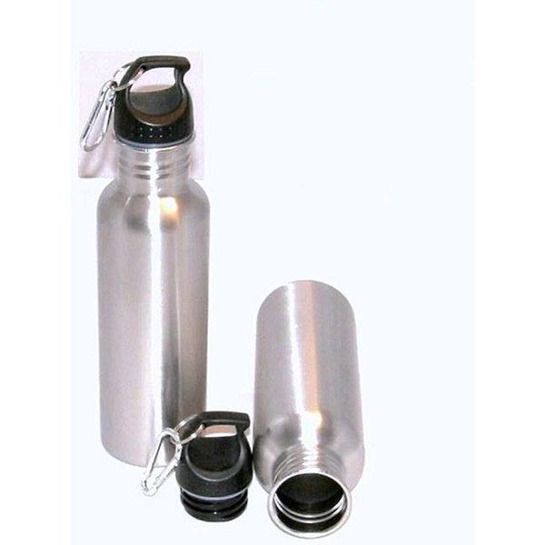 Stainless Steel BPA-free 25-oz Sports Water Bottles (Set of 2)