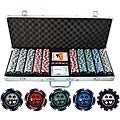 Pro Poker 500-piece Clay Poker Chips