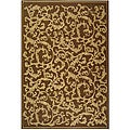 Safavieh Indoor/ Outdoor Mayaguana Brown/ Natural Rug (9' x 12')