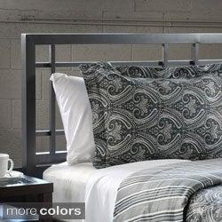 Tuscan Reversible Paisley/Stripe Cotton 3-piece Duvet Cover Set