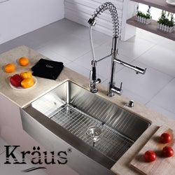 Kraus Kitchen Accessories Chrome-Plated Steel Sink Bottom Grid