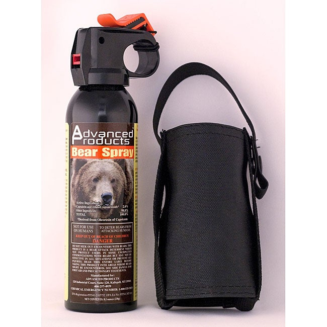 Advanced Products 8.1-oz Assault Bear Deterrent with Holster
