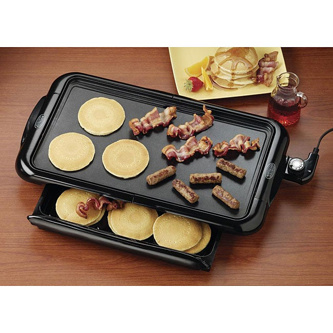 Nostalgia Electrics NGD-200 Non-stick Griddle