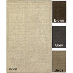 Hand-tufted Mandara Wool/ Silk Rug (8' x 10')
