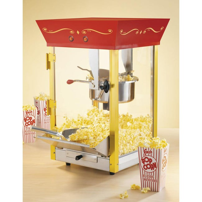Nostalgia Electrics Old Fashioned Movie Popcorn Machine