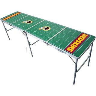 NFL Officially Licensed Washington Redskins Aluminum Tailgate Table