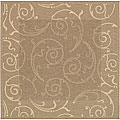 Safavieh Indoor/ Outdoor Oasis Brown/ Natural Rug (6'7 Square)