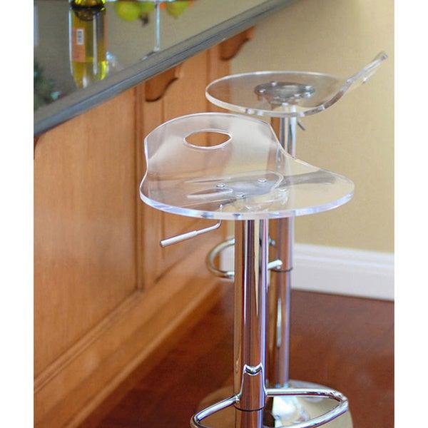 Portola RST Living Acrylic Barstools (Set of 2)