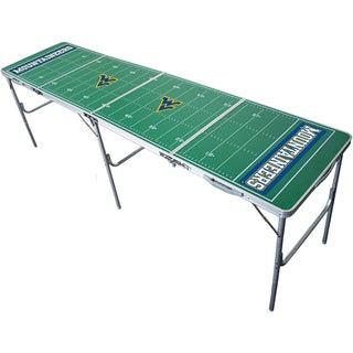 NCAA Aluminum/Plastic Tailgate Table