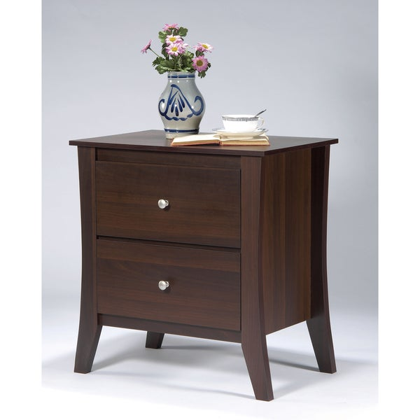 Furniture of America Beatrix Modern 2-drawer Nightstand