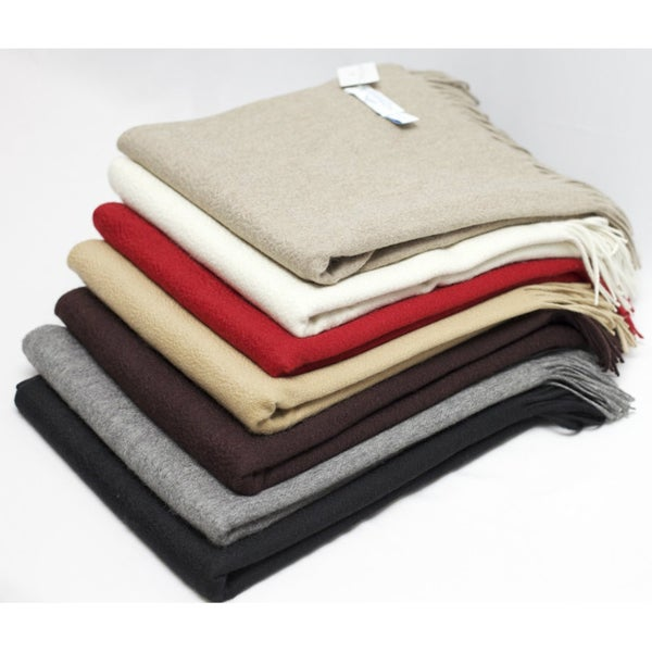 Waterwave 'Lucy' 100-percent Cashmere Throw