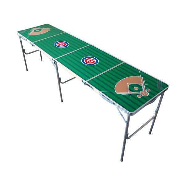 Officially Licensed MLB Diamond 8-Foot Folding Tailgate Table