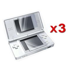 Nintendo DS Lite 2-LCD Reusable Screen Protector (Pack of 3)